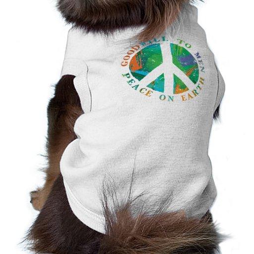 Weltfrieden Hundebekleidung