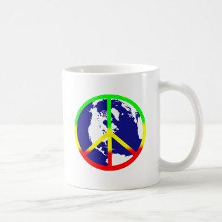 Weltfrieden Kaffeetasse