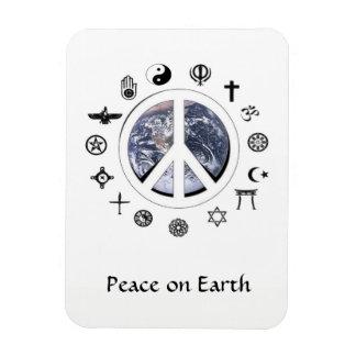 Weltfrieden Magnet