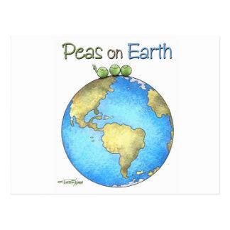 Weltfrieden Postkarte