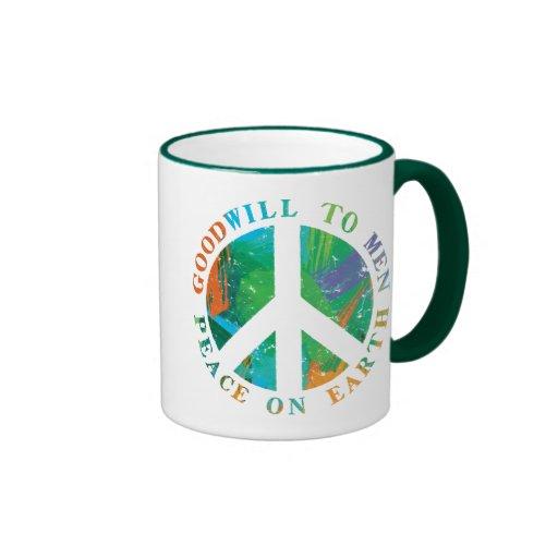 Weltfrieden Kaffee Tassen
