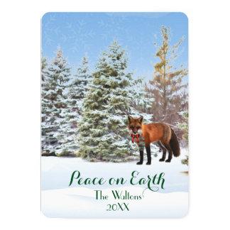 Weltfrieden-Weihnachtskarte 12,7 X 17,8 Cm Einladungskarte