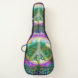 Weltfriedensbaum des Lebens Gitarrentasche