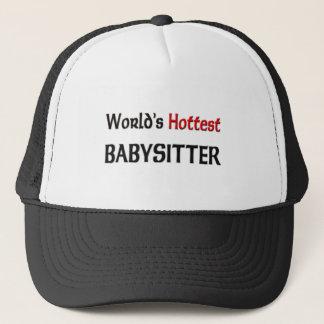 Weltheißester Babysitter Truckerkappe