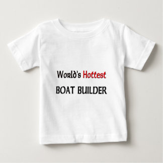 Weltheißester Boots-Erbauer Baby T-shirt