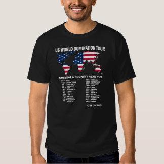 Weltherrschafts-Ausflug Shirts