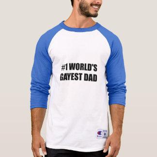 Welthomosexuellster Vati T-Shirt