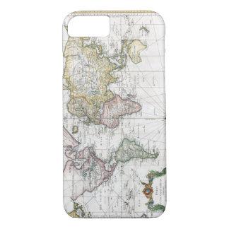 Weltkarte 1748 iPhone 8/7 hülle