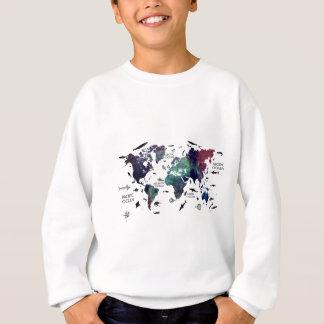 Weltkarte 7 sweatshirt