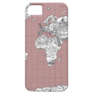 Weltkarte 8 etui fürs iPhone 5