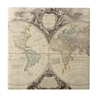 Weltkarte 8 keramikfliese