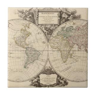 Weltkarte 9 fliese