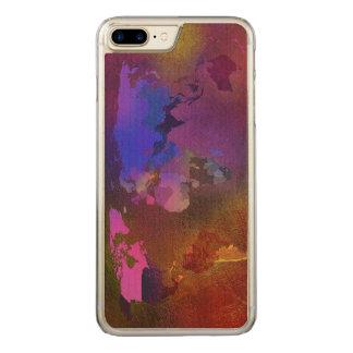 Weltkarte Carved iPhone 8 Plus/7 Plus Hülle
