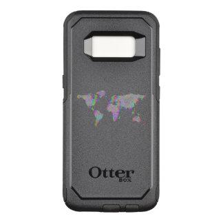 Weltkarte OtterBox Commuter Samsung Galaxy S8 Hülle