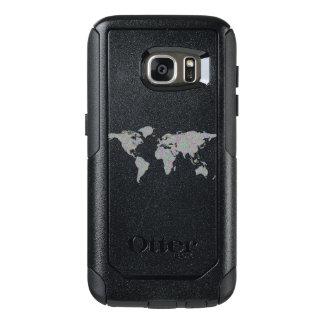 Weltkarte OtterBox Samsung Galaxy S7 Hülle