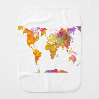 Weltkarte Spucktuch