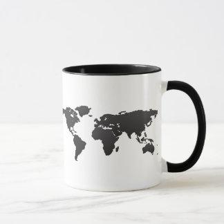 Weltkarte Tasse