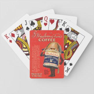 Weltkrieg 1 Kaffee-Anzeige Ärag Washington Spielkarten