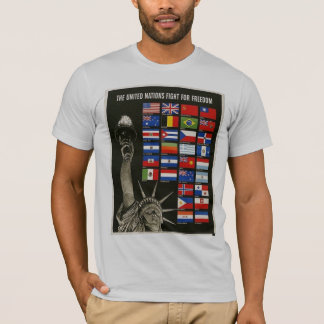 Weltkrieg 2 Damen-Liberty T-Shirt