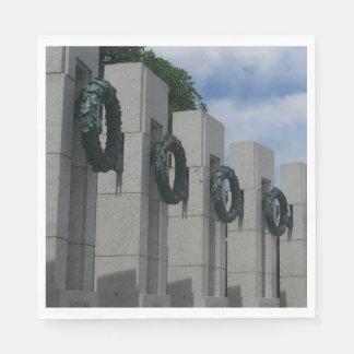 Weltkrieg-ErinnerungsKränze I Papierserviette