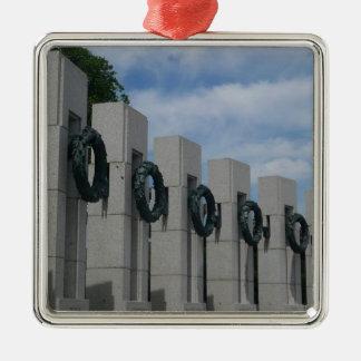 Weltkrieg-ErinnerungsKränze I Silbernes Ornament
