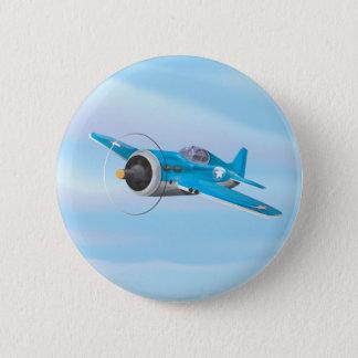 Weltkrieg-Kampfflugzeug Runder Button 5,1 Cm