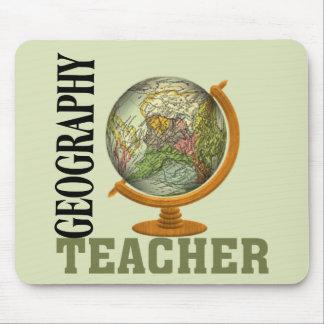 Weltkugel-Geografie-Lehrer Mousepad