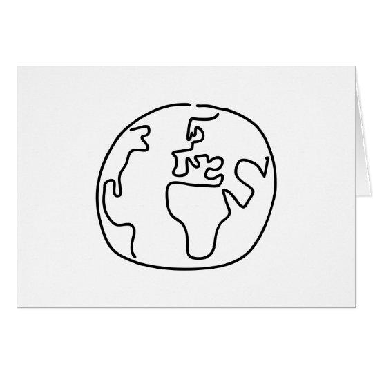 Weltkugel Globus Weltkarte Afrika Europa Karte