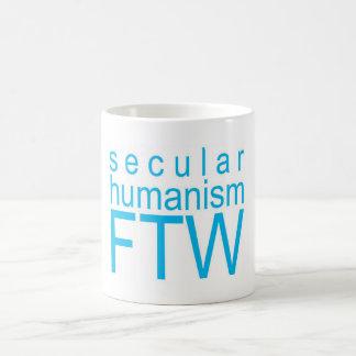 Weltlicher Humanismus FTW Kaffeetasse