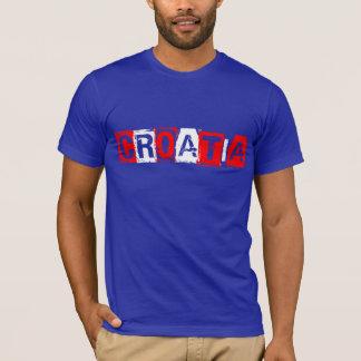 Weltmeisterschaft-Fußball Kroatien 2014 T-Shirt