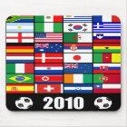 Weltmeisterschaft-Fußball Mousepad 2010