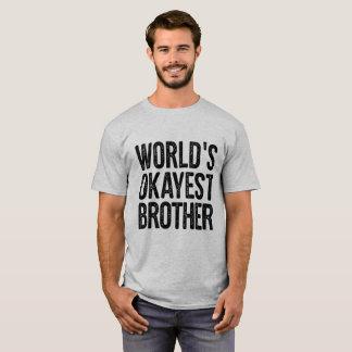 WeltOkayest Bruder-Definitions-lustiges Shirt