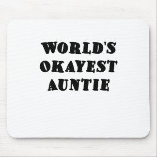 WeltOkayest Tante Mauspads