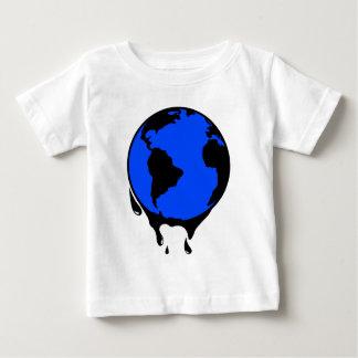 Weltöl-biologischer Brennstoff Baby T-shirt