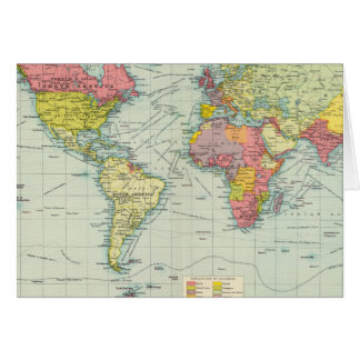 Weltpolitische Karte
