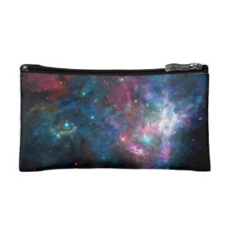 Weltraum-Galaxie-Nebelfleck-Make-uptasche Kosmetiktasche