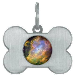 Weltraum-Nebelfleck Tiermarke