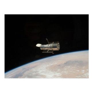 Weltraumteleskop der NASAs Hubble Postkarte
