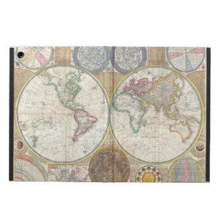 Weltreise-Karten-Antike Vintag