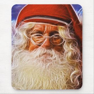 Welts-Vater-Weihnachtsweihnachtsmann-Porträt Mauspads