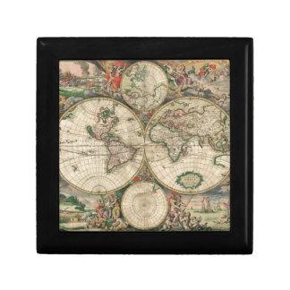 Weltskarte 1689 erinnerungskiste
