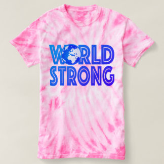 Weltstarke gefärbte Krawatte T-shirt
