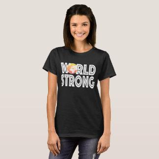 Weltstarke Orange T-Shirt
