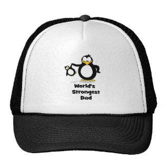 Weltstärkster Vati-Pinguin Baseballcaps