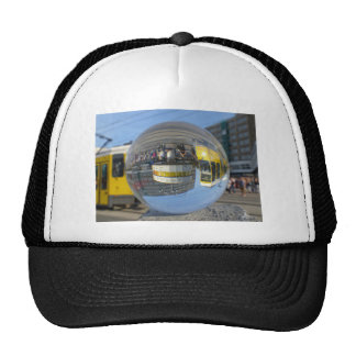 WeltStempeluhr, Alex, Berlin, Kristallball Trucker Caps