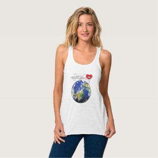 WELTumgedrehtes T-Shirt   AllSeeingHeart.org