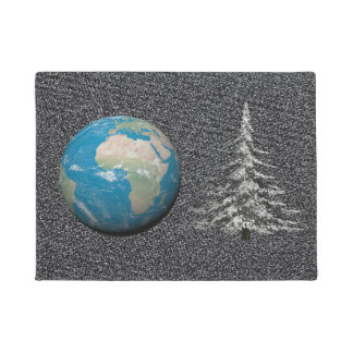 Weltweihnachten und -schnee türmatte