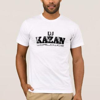 Weltweites Logo DJ Kasan T-Shirt