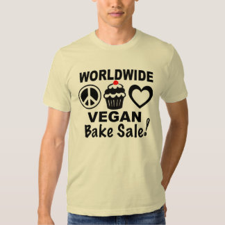 Weltweites veganes backen Verkaufs-Shirt durch Tshirt