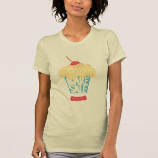 Weltweites veganes backen Verkaufs-Shirt durch Vik